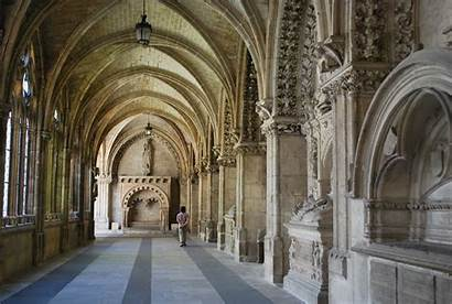 Cathedral Burgos Inside Cloisters Facts Socalgalopenwallet Empty