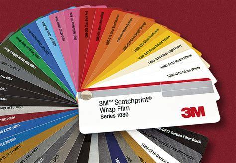 3m 1080 colors custom high performance 3m 1080 wrap material