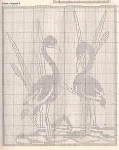 Rideaux Crochet Filet Gratuit by Rideau Avec Flamants Grille Filet Crochet Toutes Les