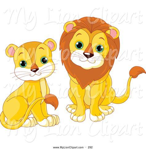 female lion clipart  clip art