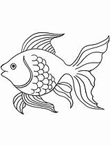 Coloring Fish Angelfish Gaddynippercrayons sketch template