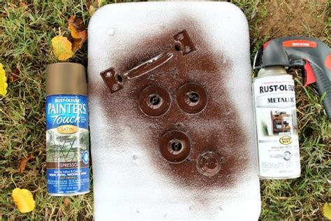 rust colored spray paint how to refresh paint color using hemp green folk