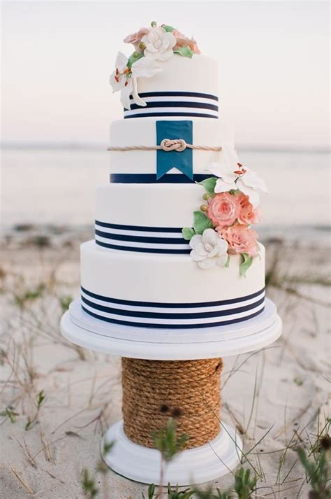 Color Me Blue Nautical Themed Beach Wedding Beach