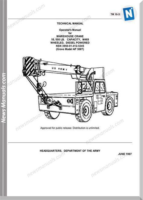 grove crane ap  operator manual