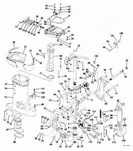 Evinrude 1984 115 - E115txcrd  Midsection