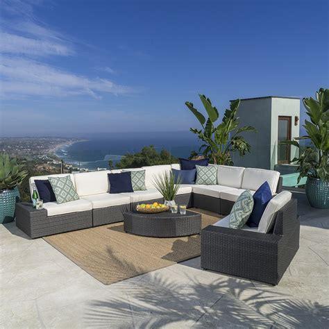 white wicker patio furniture accent cool ideas