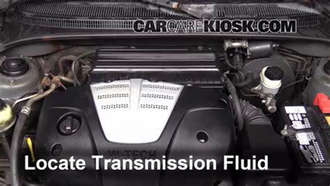 Kia Transmission Fluid by Transmission Fluid Leak Fix 2001 2005 Kia 2004 Kia