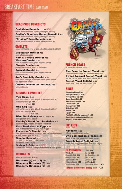 Deck Daytona Fl Menu by Crabby Joe S Deck Grill 235 Photos Seafood Daytona