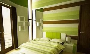 Feng Shui Farben Schlafzimmer : frische farben f rs schlafzimmer 59 wohnideen in gr n ~ Markanthonyermac.com Haus und Dekorationen