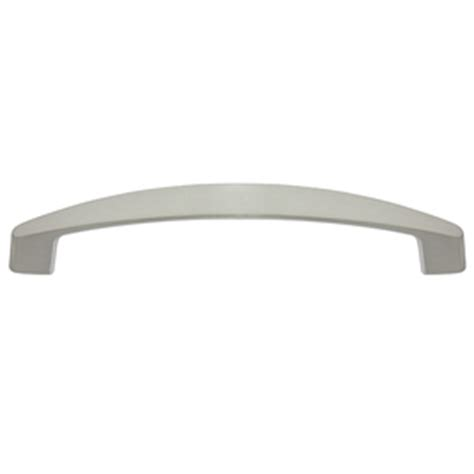 style selections cabinet pulls shop style selections 128mm center to center satin nickel