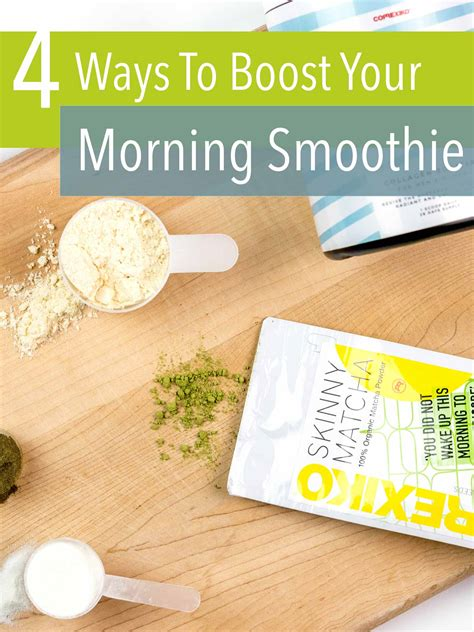 4 Awesome Ways To Boost Your Morning Smoothie Jessoshii