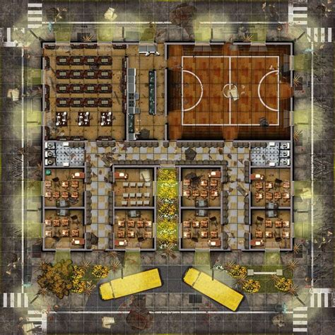 rpg maps map modern tabletop game fantasy zombie building sci fi shadowrun apocalyptic battle plans down fallout cyberpunk western town