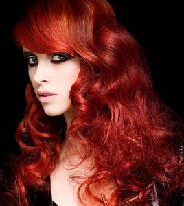 bright-red-hair - Hair Colors Ideas