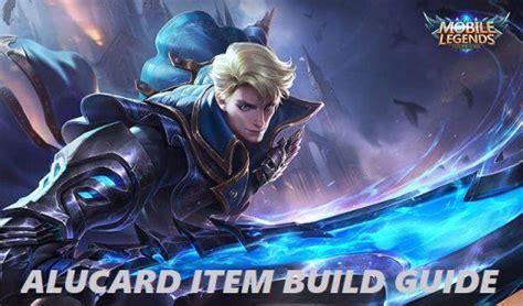 Alucard Item Build Guide