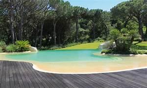 Piscines a debordement principes et techniques for Piscine forme libre avec plage 1 photos des plus belles piscines paysagares piscine