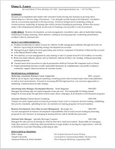 Author Resume Sles by Sales Resume Resume Studio Resumes Career