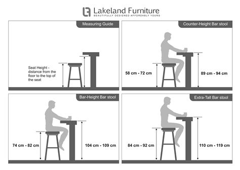 bar stool size guide  height  width