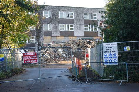 demolition  bridges hall university  simon mortimer geograph britain  ireland