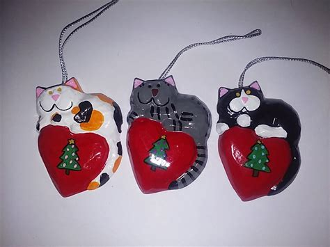 calico cat christmas ornament christmas cat by