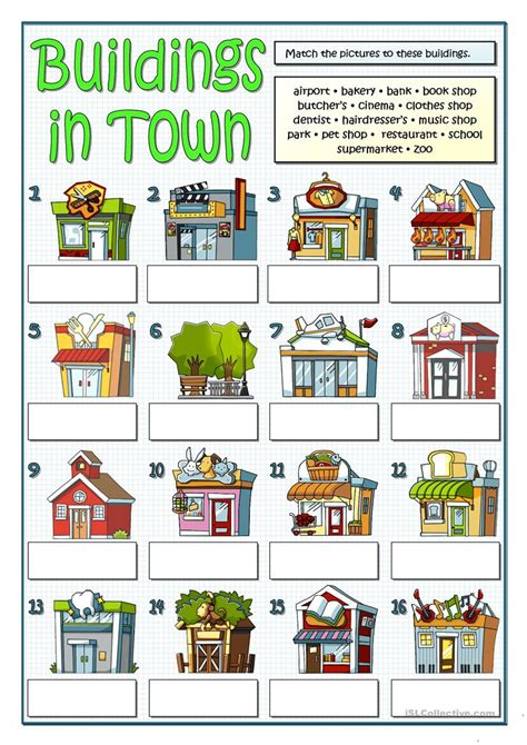 favorite places in the neighborhood worksheet goodsnyc