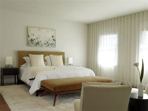 mid century modern curtains bedroom contemporary with area
