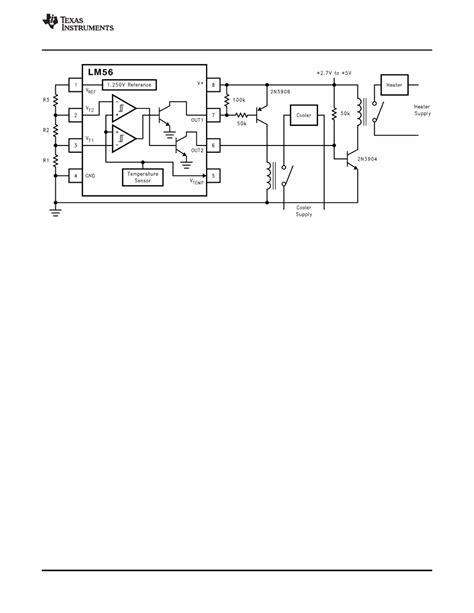 Caracteristicas tecnicas de LM56 - Datasheet