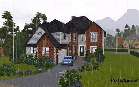 Mod The Sims  '5 Bedroom European Style House' (ts3
