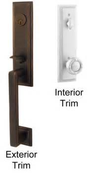 Emtek Crystal Cabinet Knobs by Emtek Wilshire Brass Entry Door Handle Shop Entry Set