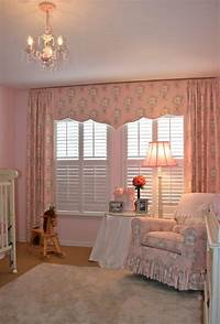 nursery window treatments Girl's baby room - Traditional - tampa - by Finishing Touches