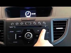 2014 Honda Cr-v Guide To Setting Your Clock