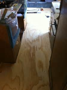 Allure Flooring RV Floor Replacement