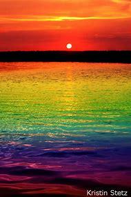 Sunset Rainbow Colors