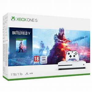 Xbox One S 1TB Console With Battlefield V Deluxe Xbox One