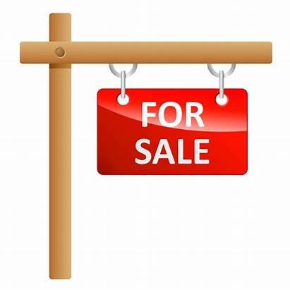 Sign Promotion Clipart Land Selling Property Estate