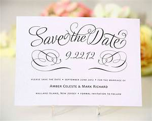 save the date cards templates for weddings With free online wedding save the date templates