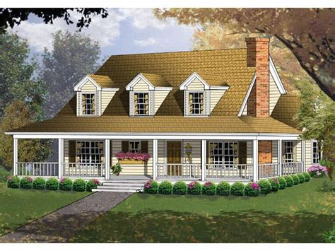 Country Home Plans Wrap Around Porch by Plan 015h 0009 Find Unique House Plans Home Plans And