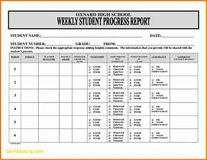 6+ students progress report template | phoenix officeaz