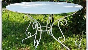 Gartentisch Rund Metall Antik : runder garten tisch urbain aus metall ~ Yasmunasinghe.com Haus und Dekorationen