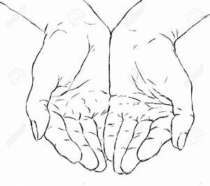 Open Praying Hands Drawing images | i n k | Pinterest ...