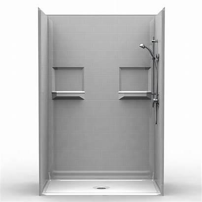 Shower 54 Piece Showers Threshold Curb 54x30