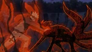 Naruto, Nine, Tailed, Fox, Form, Wallpaper