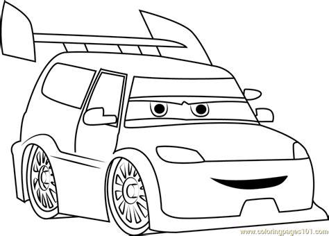 angry cars coloring page  cars coloring pages coloringpagescom