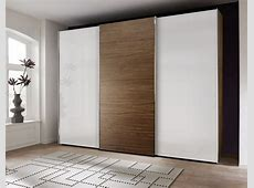 Buy Nolte Attraction Wood and Glass Sliding Wardrobe