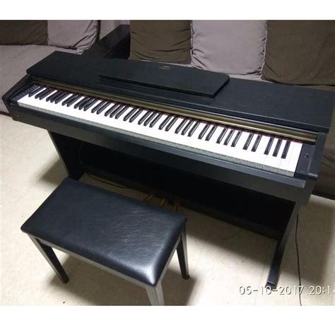 yamaha arius ydp 161 yamaha arius ydp 161 pre loved digital piano bench media instruments on carousell