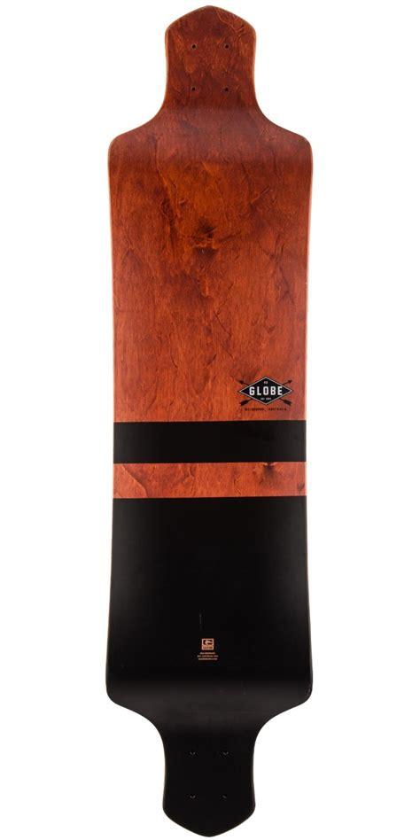 Drop Longboard Decks by Globe Geminon Drop 41 Quot Longboard Deck Black