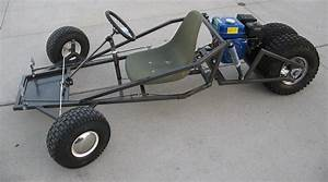 Go Kart Frame Plans Homemade