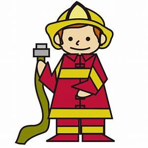 Firefighter cartoon fire fighter clip art at vector clip ...
