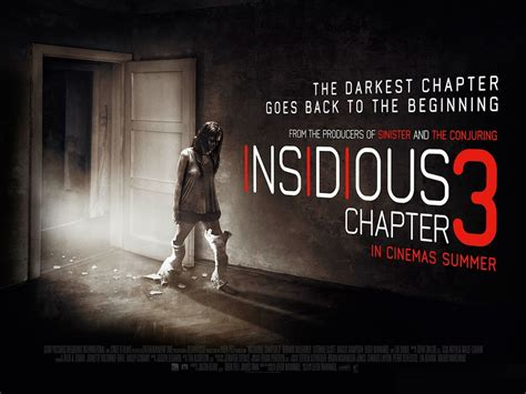 3 TV Spots and Poster for INSIDIOUS: CHAPTER 3 — GeekTyrant