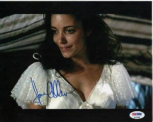 Karen Allen Raiders Of The Lost Ark Autograph Signed 8x10 ...