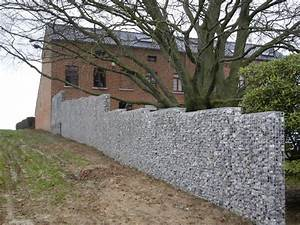 Mur De Cloture En Gabion : confection d 39 un mur en gabions ~ Edinachiropracticcenter.com Idées de Décoration